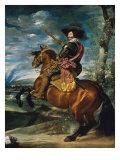 Equestrian Portrait of Gaspar De Guzman  Duke of Olivares
