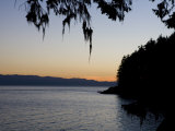 Sunset on the Pacific Coast of Vancouver Island  Sooke  British Columbia  Vancouver Island  Canada