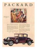 Packard  Magazine Advertisement  USA  1929