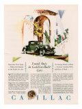 Cadillac  Magazine Advertisement  USA  1928
