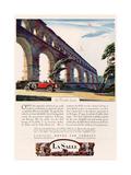 Cadillac La Salle  Magazine Advertisement  USA  1928