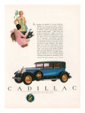 Cadillac  Magazine Advertisement  USA  1927