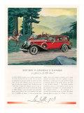 Cadillac La Salle  Magazine Advertisement  USA  1933
