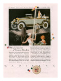 Cadillac  Magazine Advertisement  USA  1925