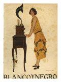 Blanco y Negro  Magazine Cover  Spain  1925