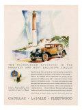 Cadillac La Salle  Magazine Advertisement  USA  1929