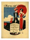 Floralia  Magazine Advertisement  Spain  1919