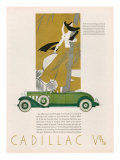 Cadillac  Magazine Advertisement  USA  1931