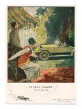 Pierce Arrow  Magazine Advertisement  USA  1925