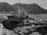 Medicean Tower in Campese  the Island of Giglio