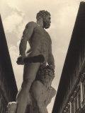 Hercules and Cacus  Statue by Baccio Bandinelli  Conserved in the Piazza Della Signoria in Florence
