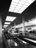 Inside of a Fiat Factory in Bologna  the Cars are Being Assembled by the Workers