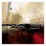 Symphonie en rouge et kaki I Giclée premium par Laurie Maitland