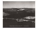 California Clipper  San Francisco Bay  California 1939