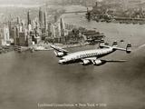Lockheed Constellation  New York 1950