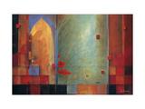 Passage en Inde Reproduction d'art par Don Li-Leger