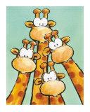 Funny Friends II Reproduction d'art par Jean Paul