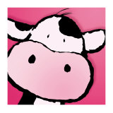 Vache Reproduction d'art par Jean Paul