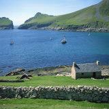 Cottage Beside Village Bay  St Kilda  Western Isles  Outer Hebrides  Scotland  United Kingdom