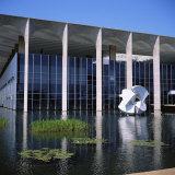 Palacio Do Itamaraty  Brasilia  UNESCO World Heritage Site  Brazil  South America