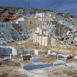 Open Cast Marble Mine  Greece  Europe