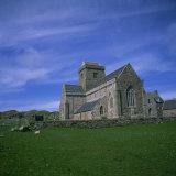 Abbey on Iona  Scotland  United Kingdom  Europe
