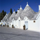Trulli Houses of Alberobello  UNESCO World Heritage Site  Puglia  Italy  Europe