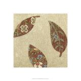 Linen Leaves II