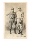 Two Early Baseball Players