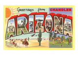 Greetings from Chandler  Arizona