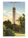 University Campanile  Berkeley  California
