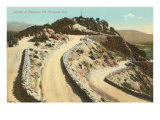 Summit of Rubidoux Mountain  Riverside  California