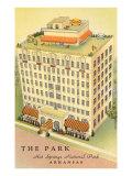 Park Hotel  Hot Springs  Arkansas