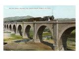 Salt Lake Bridge  Riverside  California
