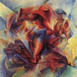 The Dynamism of a Soccer Player Giclée par Umberto Boccioni