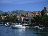 Cavtat Harbour  Dalmatia  Croatia  Europe