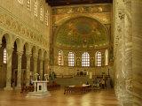 Apse of Sant'Apollinare in Classe  Near Ravenna  Emilia-Romagna  Italy