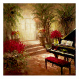 Illuminated Music Room