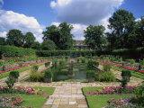 Sunken Garden  Kensington Gardens  London  England  United Kingdom  Europe