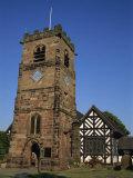 Church  Lower Peover  Cheshire  England  United Kingdom  Europe
