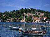Cavtat Promenade and Harbour  Dalmatia  Croatia  Europe