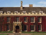 Courtyard  Trinity College  Cambridge  Cambridgeshire  England  United Kingdom  Europe