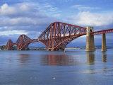 Forth Railway Bridge  Queensferry  Near Edinburgh  Lothian  Scotland  United Kingdom  Europe