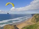 Paraglider  Costa Vincentina  Near Vila Do Bispo  Algarve  Portugal