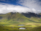 Mount Brandon  Connor Pass  Dingle Peninsula  County Kerry  Munster  Republic of Ireland  Europe