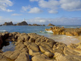 Corbiere Lighthouse  St Ouens  Jersey  Channel Islands  United Kingdom  Europe