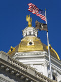State Capitol Dome  Concord  New Hampshire  New England  United States of America  North America