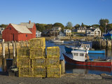 Rockport Harbor  Cape Ann  Greater Boston Area  Massachusetts  New England  USA