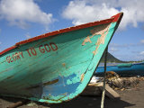 Fishing Boat  Prince Rupert Bay  Portsmouth  Dominica  Windward Islands  West Indies