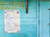 Snackette  Portsmouth  Dominica  Lesser Antilles  Windward Islands  West Indies